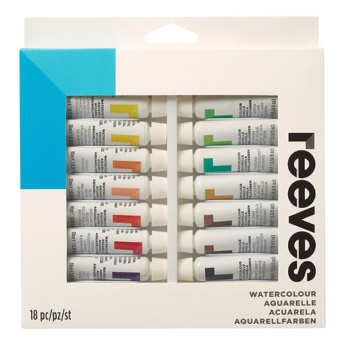 Reeves Water Colour 10ml Sets