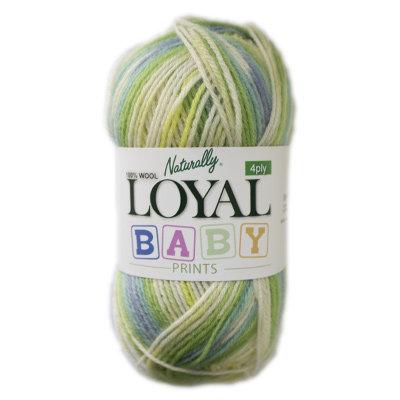 Loyal Baby Prints 4 Ply