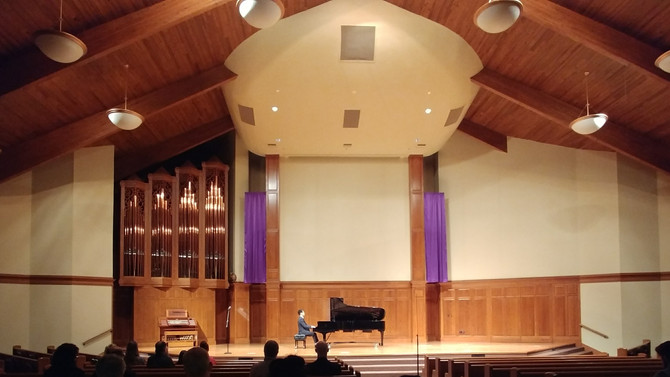 Concert Recap: Weekend at Bach Festival and Competition at Hesston College