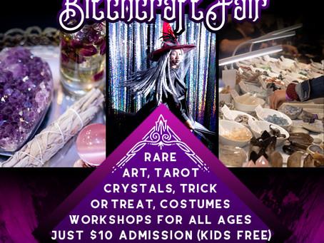 Bitchcraft Fair!  September 22nd, 2019