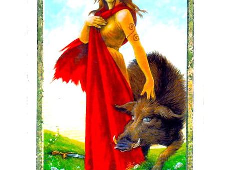 Strength - Druid Craft Tarot