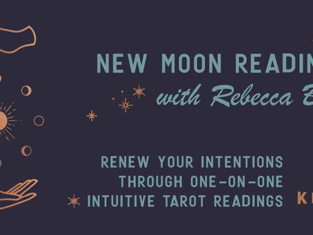 New Moon Readings at Kingfly