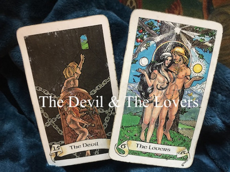 The Devil (The Lovers) - Robin Wood Tarot
