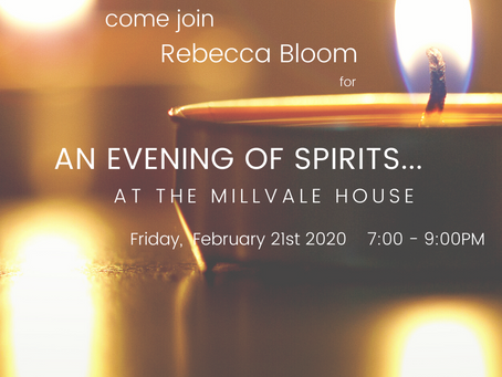 An Evening of Spirits - The Millvale House