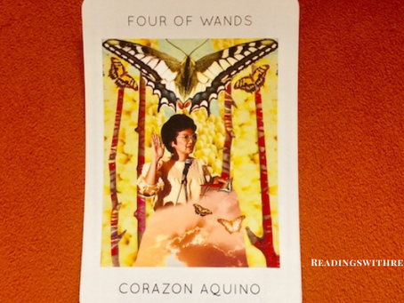 Women's History Month - 4 of Wands