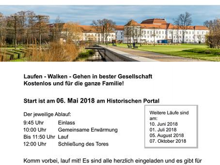 Familienlauf Schlosspark Oranienburg