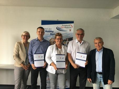Neue Coaches in Oberhavel