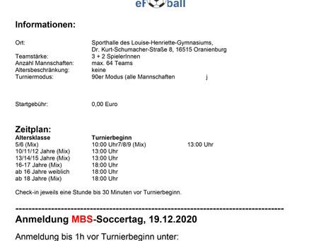 MBS Soccertag 2020