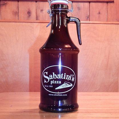 Sabatini's Ceramic Flip Top Growler