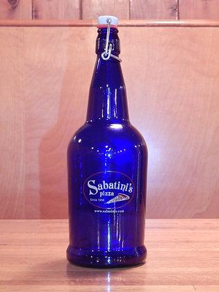 Sabatini's Cobalt Blue Flip Top (1 liter)