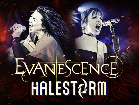 EVANESCENCE ADD 4 SHOWS TO JOINT TOUR