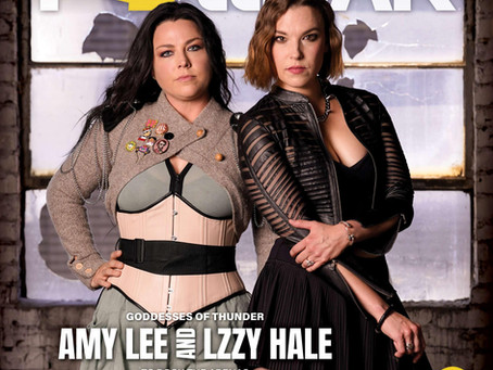 AMY LEE & LZZY HALE PROMISE A THUNDEROUS - AND JOYOUS - ARENA CO-BILL (POLLSTAR)