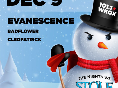 EVANESCENCE ANNOUNCE NEW SHOW IN CHICAGO, ILLINOIS