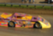 Steve Baker in Bill Bland's #0 at PPMS in 2003. Rick Schwallie photo