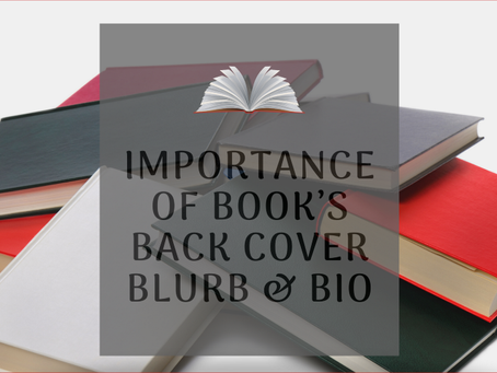 Author Bio & Book Blurbs