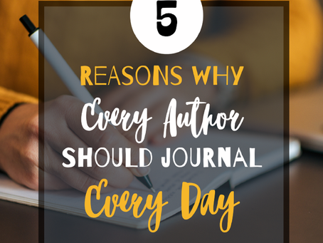 Why Every Author Should Journal Every Day