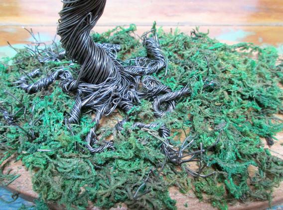 Wild Dark Tree (detail)