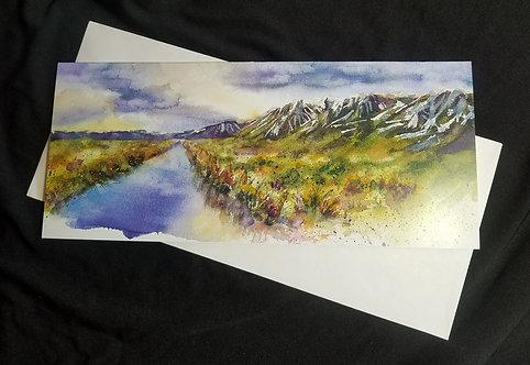 Wildflower Sunrise - Carson Valley