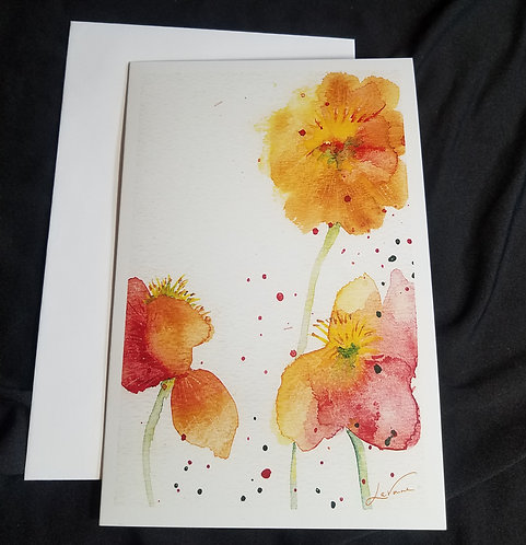 Pressed Poppies