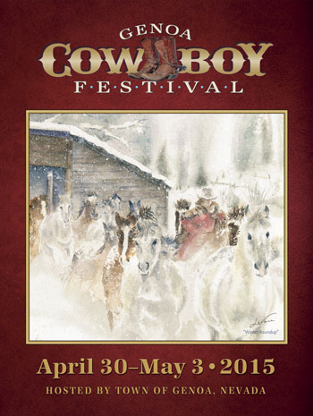 2015 Cowboy Festival Poster