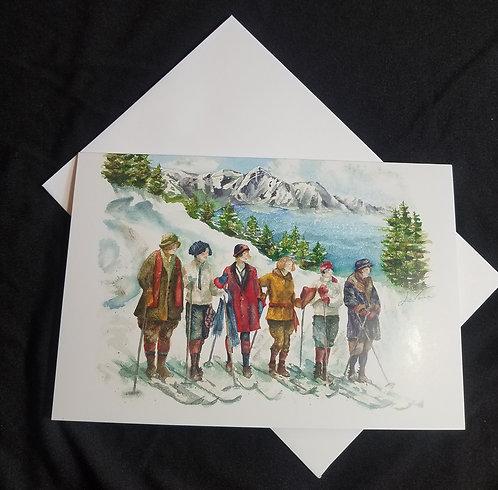 Winter Skiing - 1920Lake Tahoe