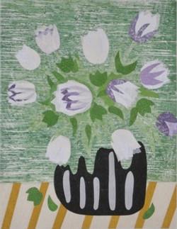 Brown_Carol_White Tulips_004