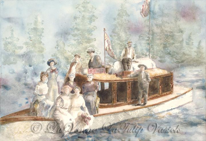 Happy Days Launch 1910 Lake Tahoe
