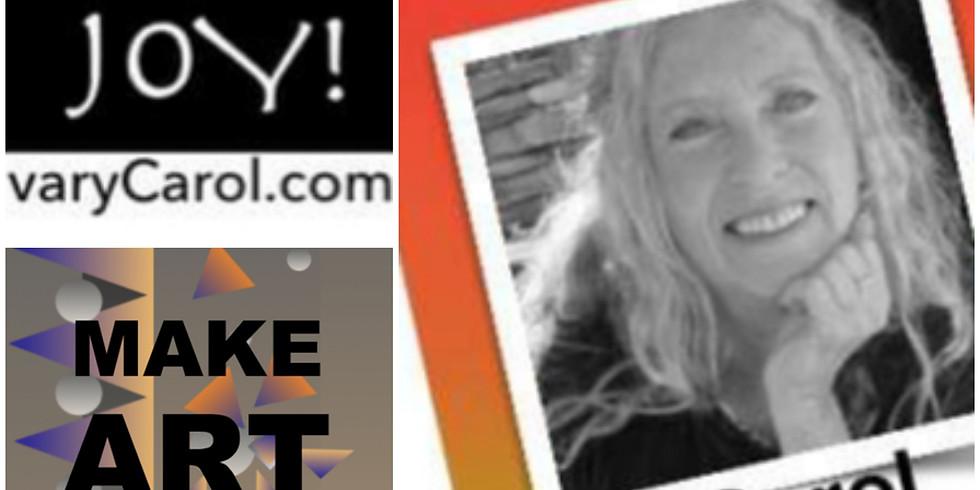 Guest Speaker Arts Educator Carol Foldvary-Anderson 3:30pm-5:30pm