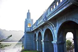 CMcClure blue bridge