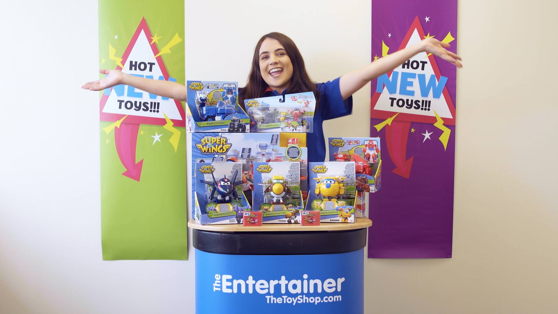 Unboxing Super Wings - The Entertainer Squad