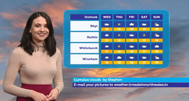 Weather Presenter, Made Television