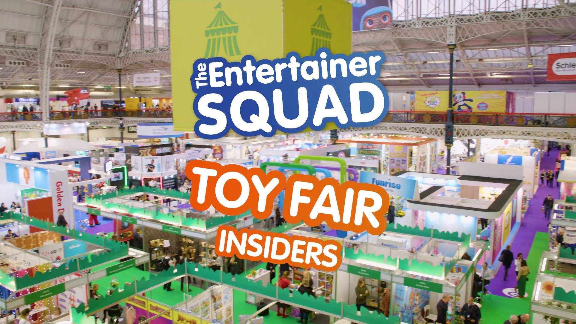 Chatting to Toy Fair Insiders with The Entertainer Squad