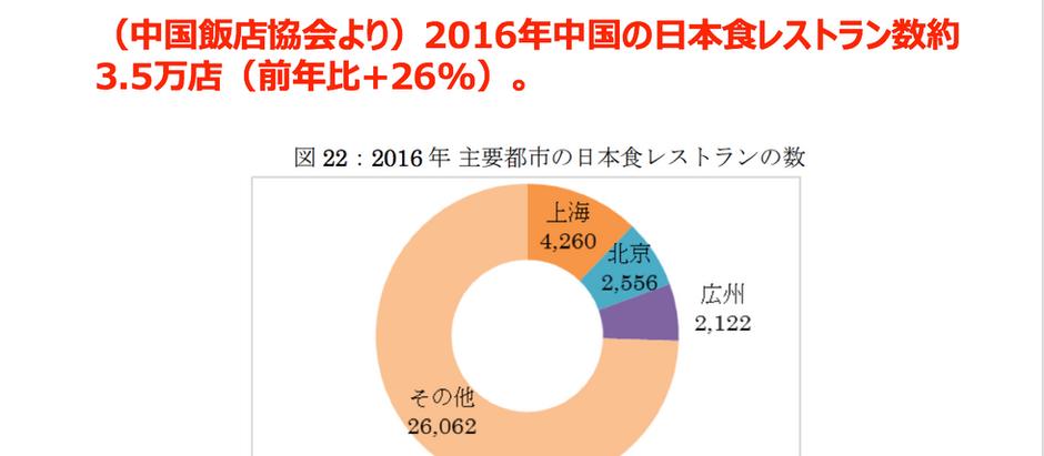 【日経】海外の日本食レストラン 2年で3割増 農水省推計