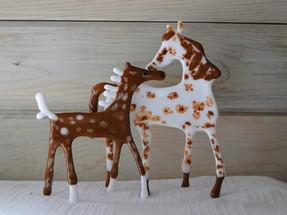 """""""Mare & Foal"""" by PB Art"""