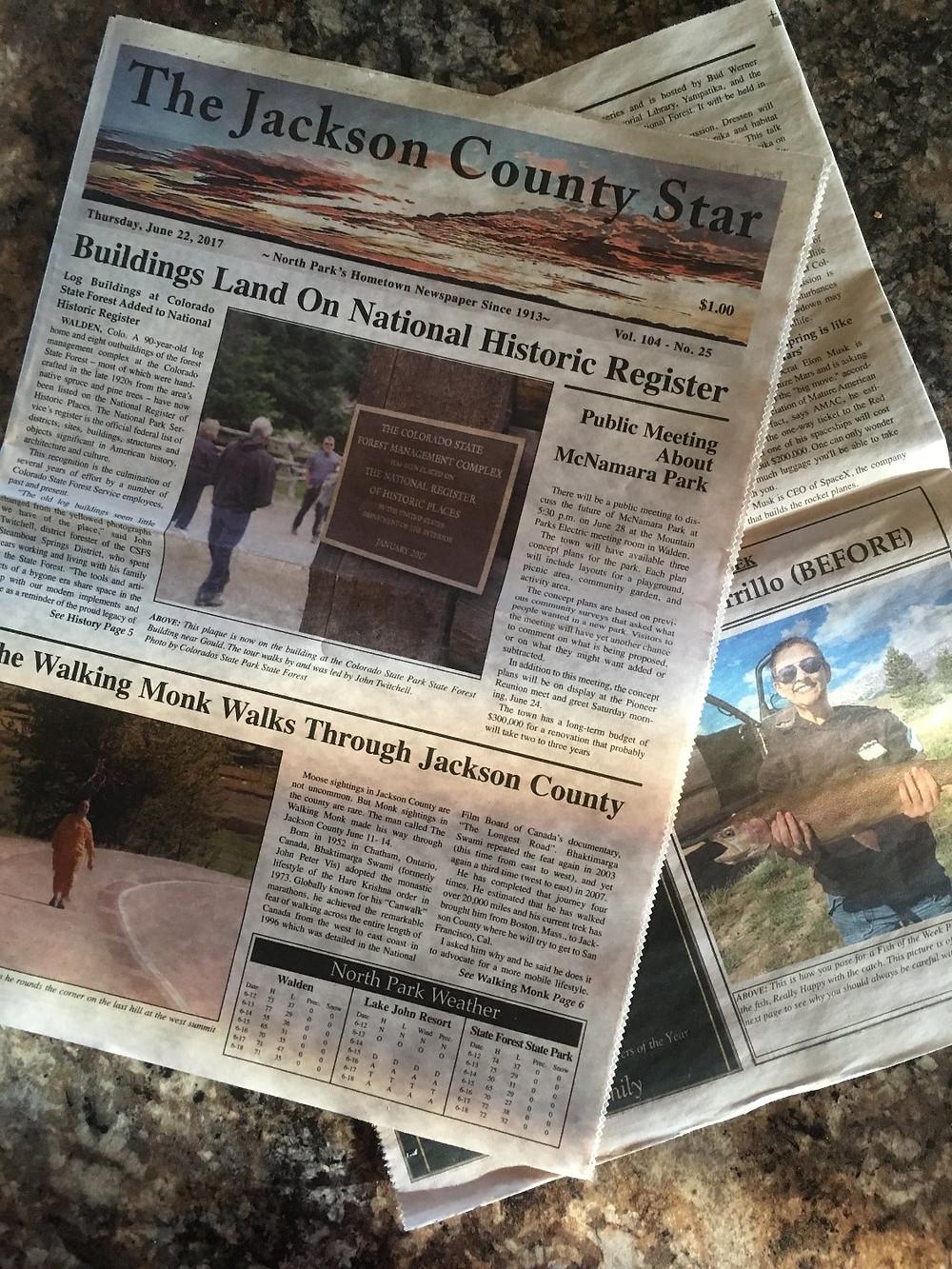 Jackson County Star, June 22, 2017
