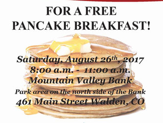 Free Pancakes Is An Investment In Our Community