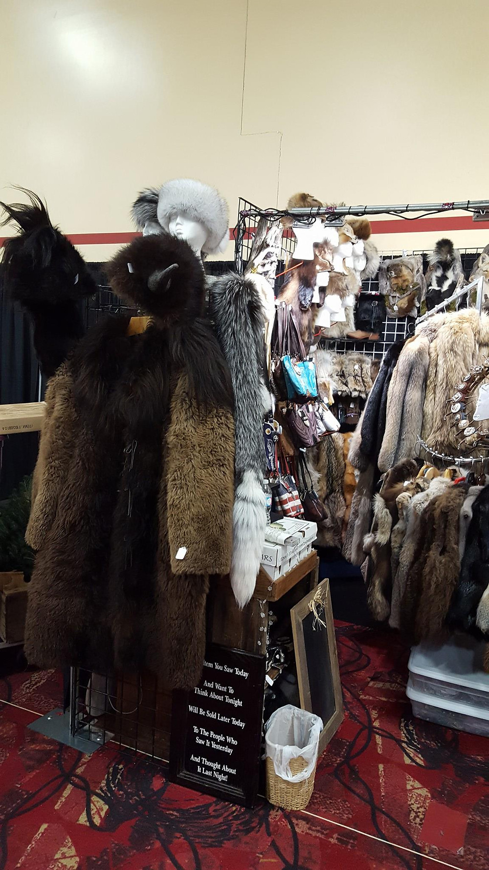 Buffalo Coat by Millie Mathies-Beck