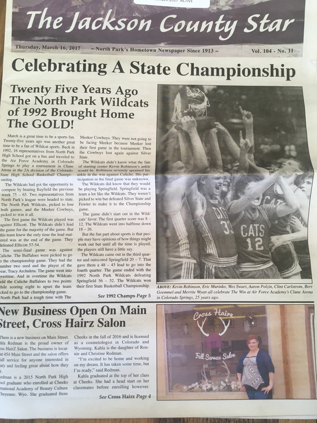 March 16, 2017 Jackson County Star