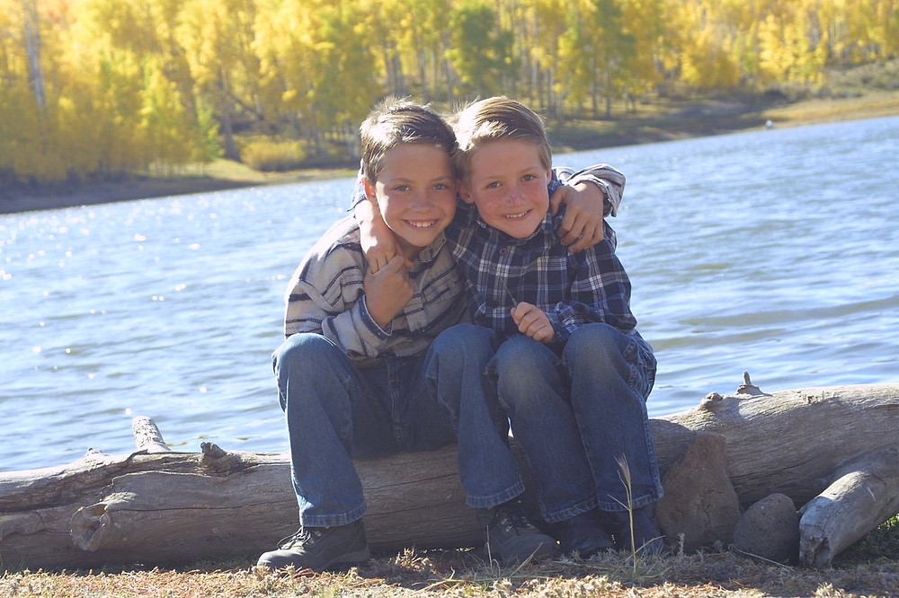 Our Young Men at 10 & 8- Now 20 & 18