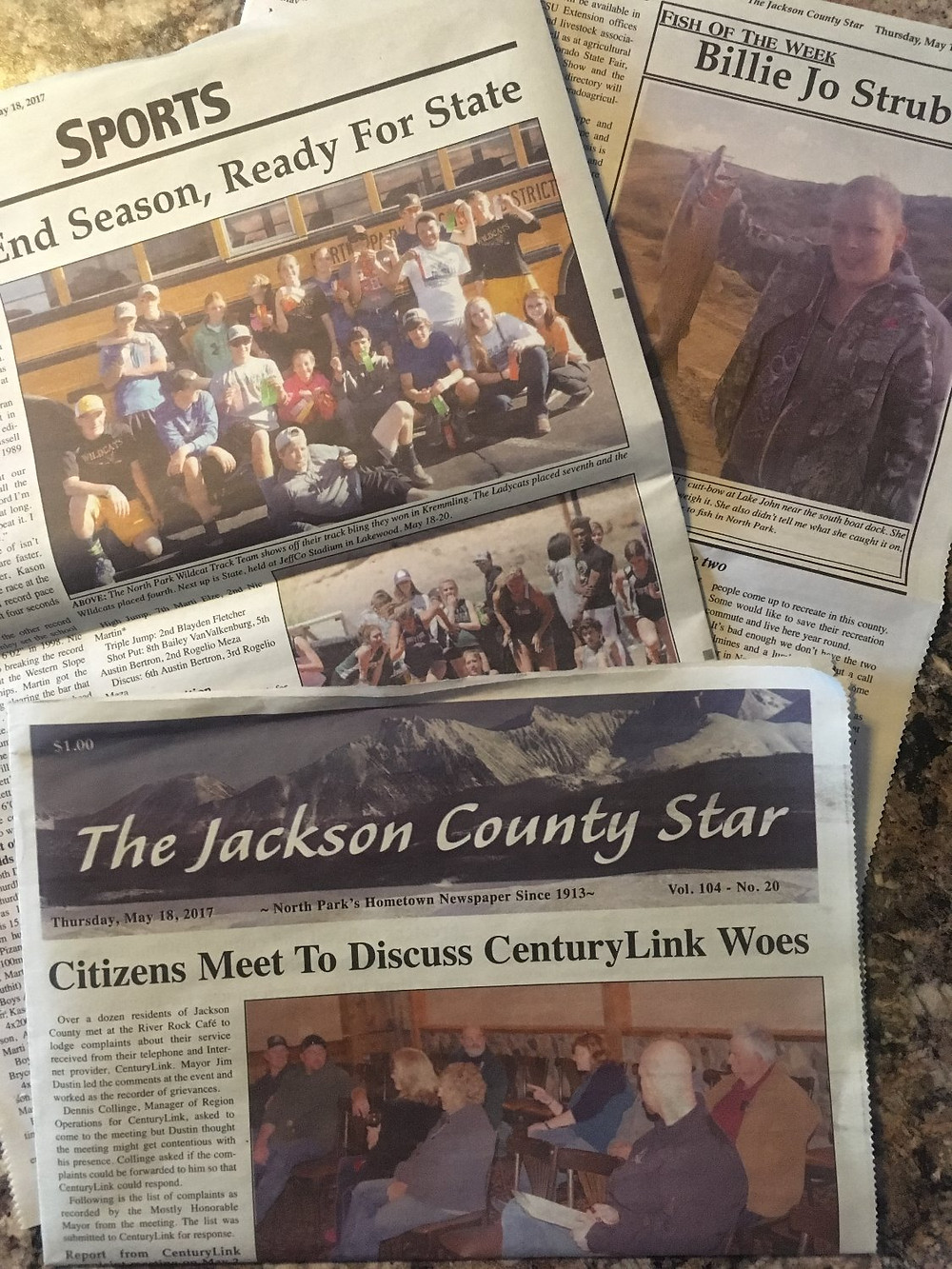 Jackson County Star May 18, 2017 edition