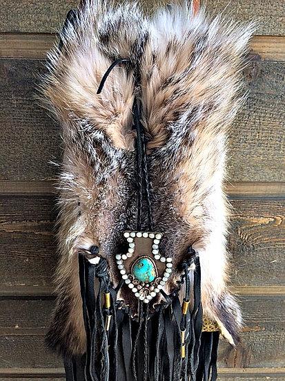 Badger Fur Mountain Purse  ❅  SOLD