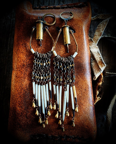 Bonfire Tramp Bullet and Quill Dangles