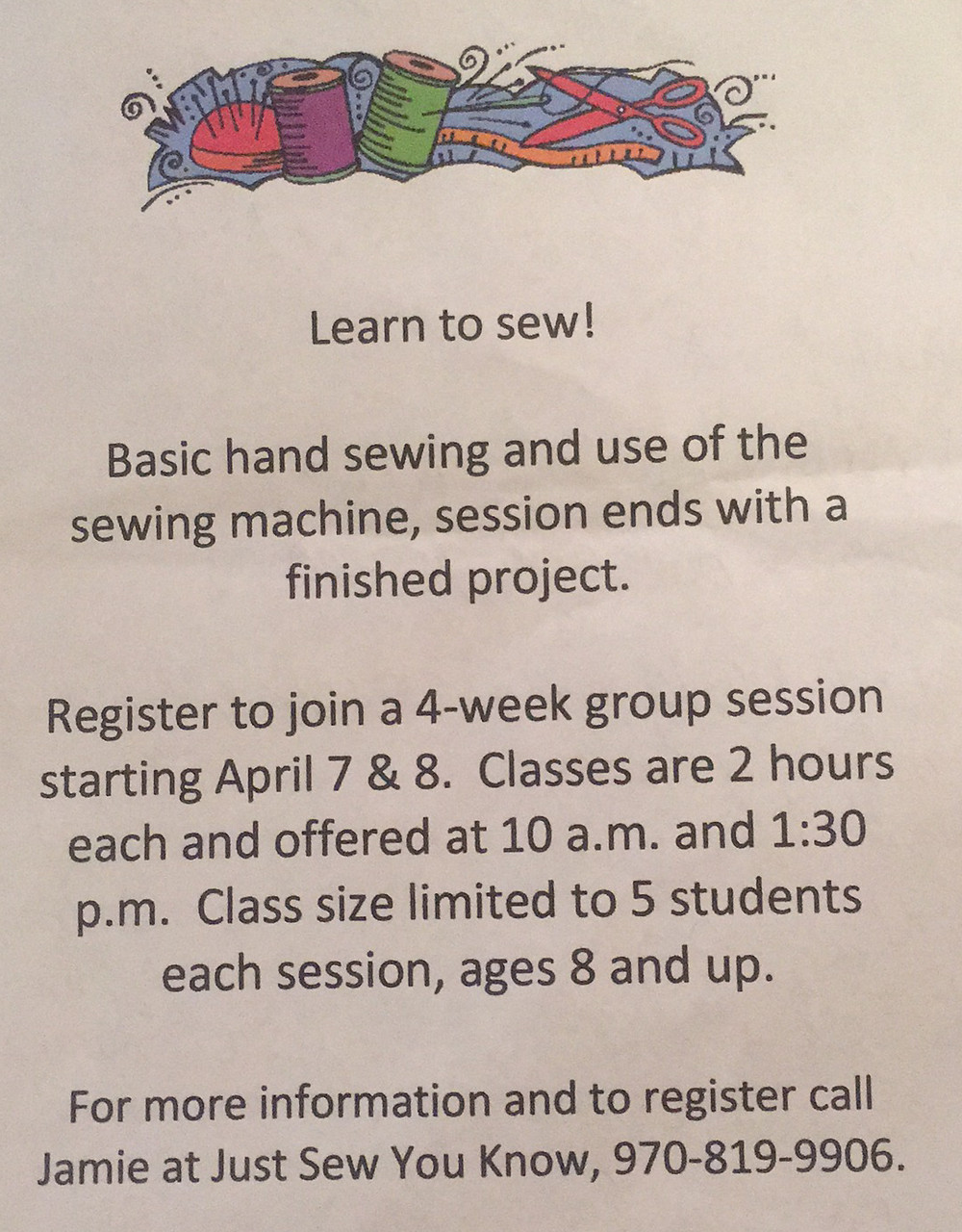 Learn To Sew with Just Sew You Know