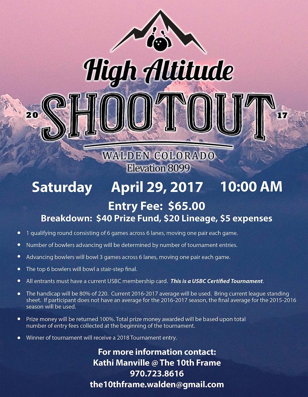 The 10th Frame High Altitude Shootout
