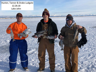 ICE FISHING REPORT!!