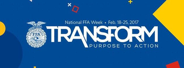 National FFA Week Logo