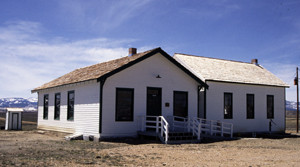 Coalmont Schoolhouse, courtesy History Colorado
