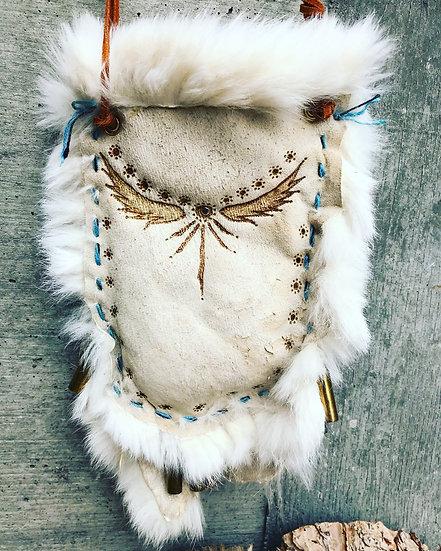 Little Bird Fur Bag with Bullet Jingles