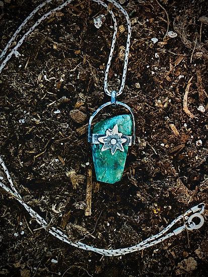 Medicine Bow Mountain Necklace Star Chrysocolla