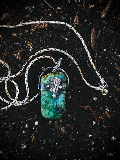 Medicine Bow Mountain Necklace